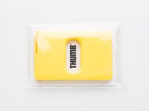 runius-design-thumb-korthållare-gul